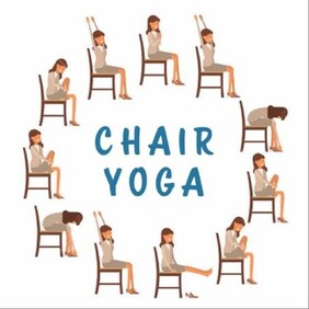 Chair Yoga - 4 week series starting the 10th July