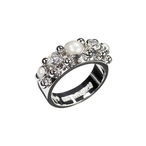 Five - Sterling Silver Ring