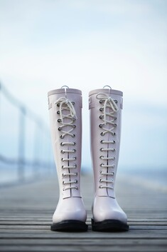 Long Rain Boots - Adobe Rose - Limited Offer