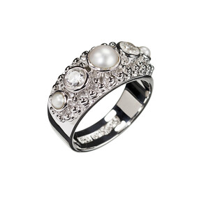 Love Story - Sterling Silver Ring