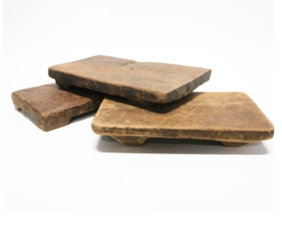 Antique wooden chopping boards