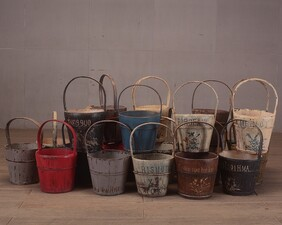 Lacquered Bucket C1800