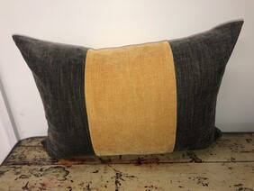 banded cushion covers - nz made