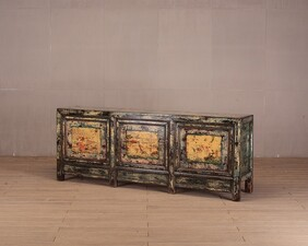 Painted Shanxi Cabinet