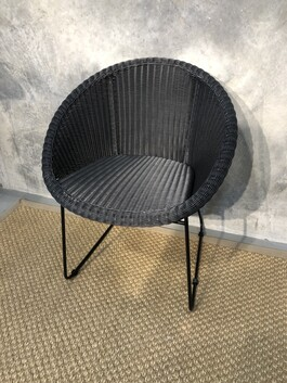 Duo dining chair - Black