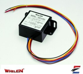 Whelen Headlight Flasher with 7 patterns + or - switching