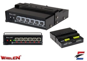 Whelen 9 Function High Current Power Control Switch