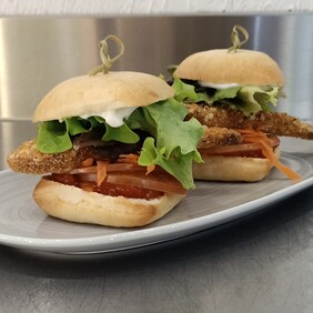 Sandwiches - Sweet chili chicken tenders with mayo sliders 10 pack
