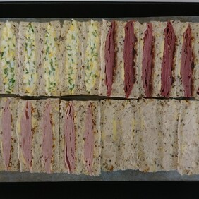Sandwiches - Selection of finger sandwiches 24 pack
