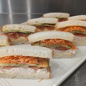 GF Sandwiches - Selection of GF sandwiches with assorted fillings 6 pack