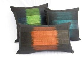Handwoven Reed Cushion Covers