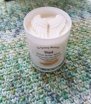 Angel Wing Candle