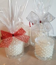 Geo Cut Glass Candles - 120ml - Small