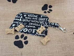 Dog Treat Pouch - Words