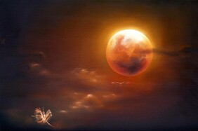 A Red Moon in August