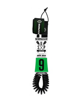 SHAPERS SUP Coil Leash 9'