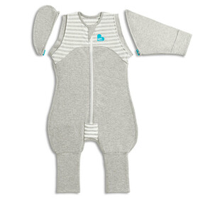 Love To Dream Swaddle Up Transition Suit Grey