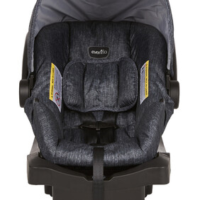 Evenflo Litemax 35 Infant Carseat Charcoal