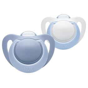 Nuk Genius Soother Silicone 2 pack