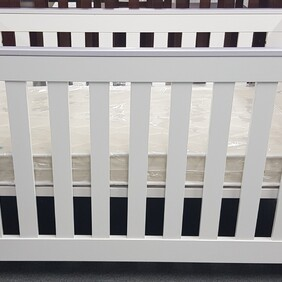 Poppy Roberts Arizona Cot/Bed + mattress bundle ( pick up only) please contact us for a freight cost