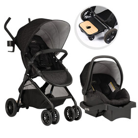 Evenflo Sibby™ Travel System with LiteMax 35 Infant Car Seat (Charcoal)