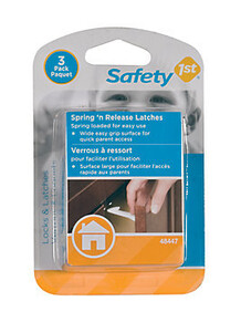 Safety 1st Spring 'n Release Latches