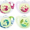 Nuk Soother Glow in the Dark Silicone Soother 2 pack