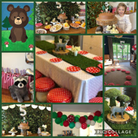   Woodland Forest Party Package