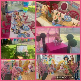 Disney Princess Party Package
