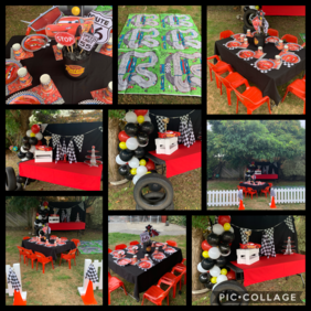 Lightening McQueen Cars Party Package
