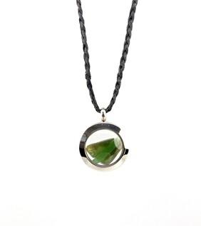 New Zealand Jade (Pounamu) Locket- Extra Small
