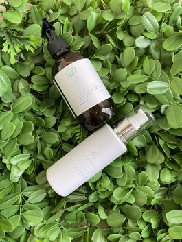 LILLI Enzyme Cleanser + Green smoothie wash