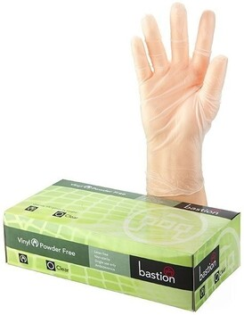 Vinyl Clear Gloves Non Powdered - Box of 100
