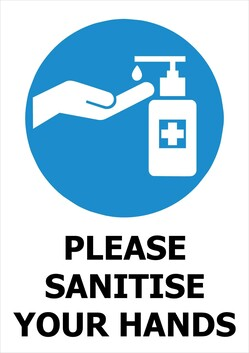 Please Sanitise Your Hands