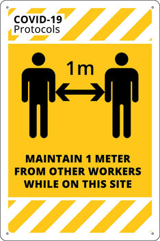 Maintain 1M or 2M From other Workers