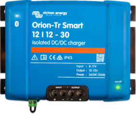 AA- Victron DC to DC Chargers, Smart Bluetooth Units