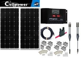 G- CP-100 2 panel kit 200 watts with PR3030 controller