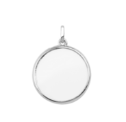 Stow Silver Large Locket