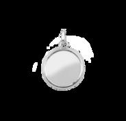 Stow Silver Medium Locket
