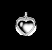 Stow Silver Medium Heart Locket