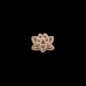 Stow Lockets 9ct Rose Gold Lotus