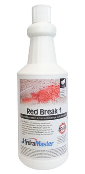 Hydramaster Redbreak 1 Coloured Drink Stain Remover