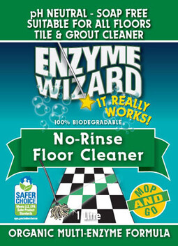 Enzyme Wizard No Rinse Floor Cleaner