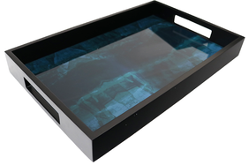 Le Forge Peacock Patterned Tray