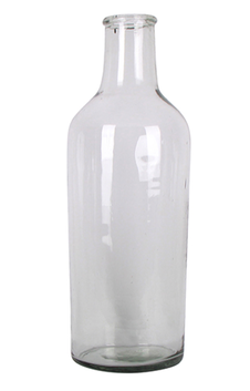 French Country Cassis Clear Bottle Large 15cmLx15cmWx47cmH