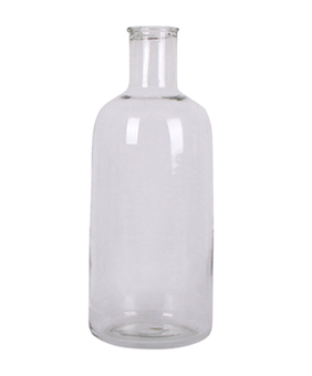 French Country Cassis Clear Bottle Small 13cmLX13cmWx32cmH
