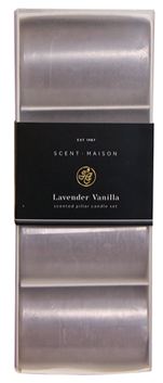 French Country Maison Lavender Vanilla Pillar Candle 50x75mm