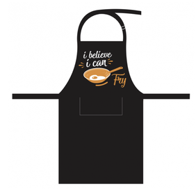 Linens & More I Believe I Can Fry Apron 70x90cm
