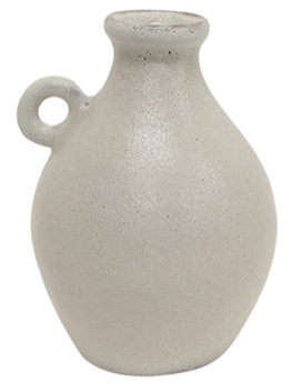 French Country Tunisian Vessel - White