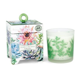Michel Pink Cactus Candle - 184g